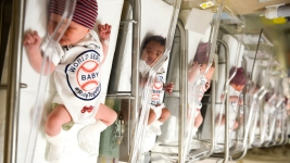 Newborns at Cleveland Hospitals #Rallytogether for Indians