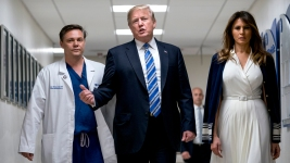 Trump Meets With Parkland Shooting Victims, Responders