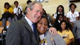 Bush Hails School Reforms in Katrina Anniversary Visit