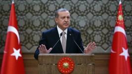 Turkey's Erdogan Blames US for 'Sea of Blood' in Region