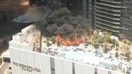 Las Vegas Hotel Fire Leaves at Least 2 People Injured