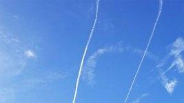 Navy Plane Draws Vulgar Symbol in Sky Over Washington State