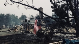 Social Media Messages Uplift Anguished Calif. Fire Victims
