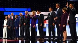 'An Erratic, Crazy President:' Dems Slam Trump at Debate