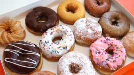 Dunkin' Donuts Employee Accused of Spraying Donuts With Bleach