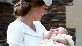 Princess Charlotte Christened in Countryside Ceremony