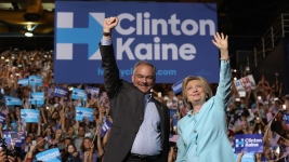 Clinton on Running Mate: Kaine 'Gets Things Done'