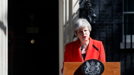 UK's May to Quit as Party Leader June 7, Opening Race for New PM