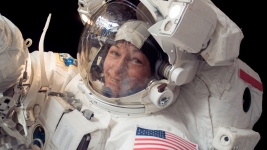 Trump Calls Space Station's Record-Breaking Commander