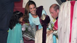 Prince William, Kate Reach Pakistan's Capital on 5-Day Visit