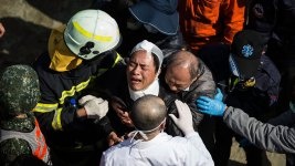 Rescuers Find Survivors After Taiwan Quake