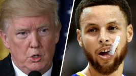 'It's Not What Leaders Do': Curry Responds to Trump