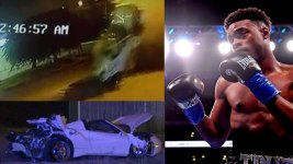 Video Shows Errol Spence Jr. Ferrari Crash in Dallas