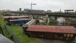 Train Derails, Leaks Hazardous Material in DC