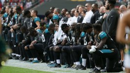 NFL Players Kneel After Trump Calls for Firing, Boycott