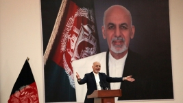 Taliban Kill 24 at Afghan President's Rally; Ghani Unhurt
