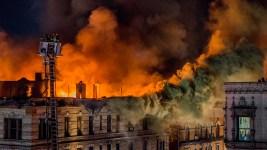 4 Hurt As Massive Blaze Rips Through NYC Building