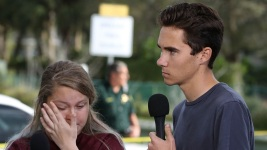Young Shooting Survivors Stepped From School Into Gun Debate