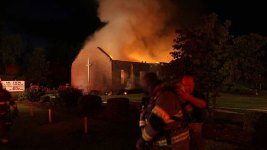 Prominent Black Church in South Carolina on Fire