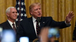 AP Fact Check: Trump Misfires on Economy, Syria, Impeachment