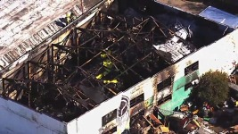 Ghost Ship Blaze Started Next Door: Manager's Lawyers