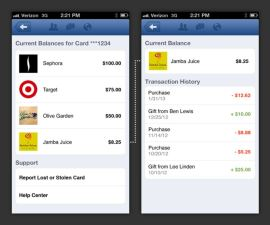 Facebook Enters Gift Card Business