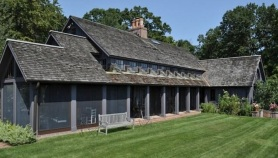 Own Larry Kramer's Elegant Barn-Style Home
