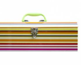 Striped Toolbox