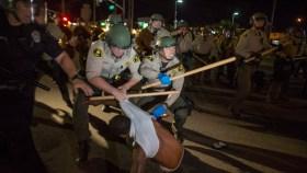 El Cajon Protests: Blocked Intersections, Smashed Windows