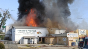 Fire at Vacant Escondido Market Under Investigation