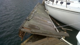 Tsunami Causes Boat Damage in San Diego