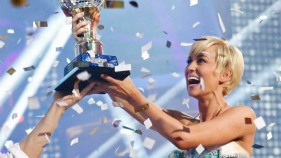 "Kellie Pickler Crowned ""Dancing"" Champion"