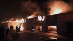 Fireworks Found After Mattress Factory Fire