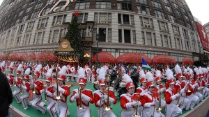 Thanksgiving Parade Features Balloons, Bands, Heavy Security