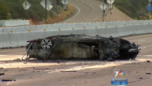 I-8 East Reopens Following Fiery, Fatal Crash