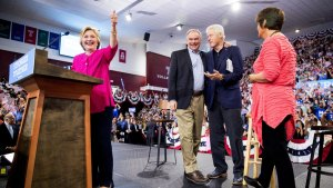 Clinton Keeps Up Anti-Trump Push; Trump Fires Back