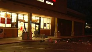Thieves Smash Into Poway Rite Aid