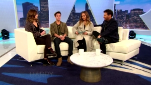 Cameron Dallas Gets Interviewed by Harry's Daughters
