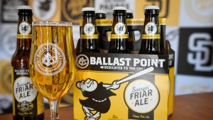 Ballast Point Brews San Diego Padres-Themed Beer