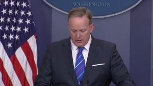 Spicer: President Condemns Anti-Semitic Actions
