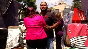 Mexico Earthquake Interrupts Anniversary Interview of 1985 Quake Victim