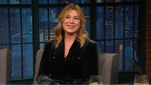 'Late Night': Pompeo Talks 300 Episodes of 'Grey's Anatomy'