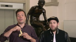'Tonight Show': Art Class With Jonah Hill