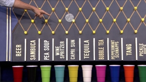 'Tonight Show': Jimmy Fallon and Jason Sudeikis Play Drinko
