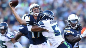 Chargers Fall to Seahawks after Rivers Scare
