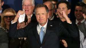 'We're on to Something': Kasich Stuns in NH