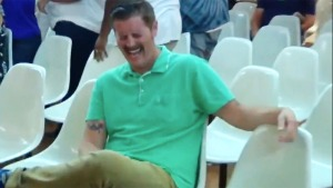 'Green Shirt Guy' Goes Viral Over Reaction to Heckler