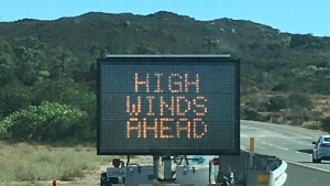 Gusts Up to 60 MPH Possible Under Wind Advisory