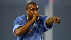 Blond Kanye Makes First Appearance Since Hospitalization