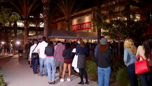 Some San Diegans Wait Hours to Register and Vote